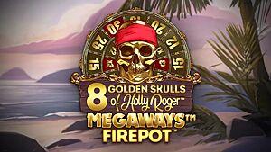 Read Golden Skulls of Holly Roger Megaways review